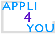 Logo Appli for You, appli4you, réelle application pour le smart phone